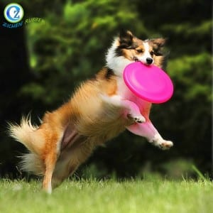 Custom Silicone Dog Frisbee High Quality Silicone Rubber Frisbee