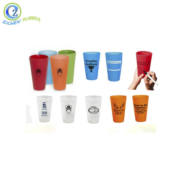 Eco-friendly Collapsible Silicone Measure Cups BPA Free Silicone Water Cup Featured Image