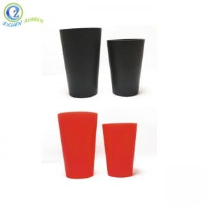 China Cheap price Custom Silicone Foldable Drinking Cup Band,Travel Silicone Folding Collapsible Cup Logo Bpa Free