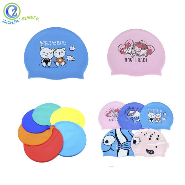 Custom Adult Silicone Swimming Cap Durable Promotional Silicone Rubber Swimming Caps Featured Image