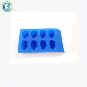 Colored Ice Cube Trays Custom BPA Free Silicone Skull Ice Cube Tray