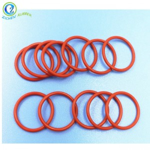 Custom Flexible FDA Silicone Rubber O Ring High Quality Durable Best Price