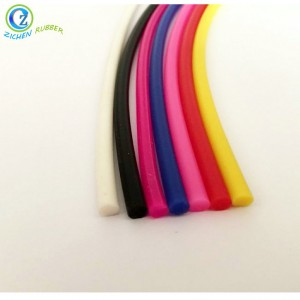 Extruded Soft Flexible Silicone Rubber Cord with Custom Service