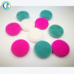Silicone Facial Cleansing Brush Sonic Face Scrubbers Waterproof Electric Face Cleanser Massager Brush for All Skin Types