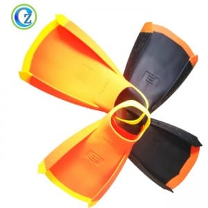 Hot Sell Silicone Rubber Swim Fins Best Quality Adult Silicone Diving Fins
