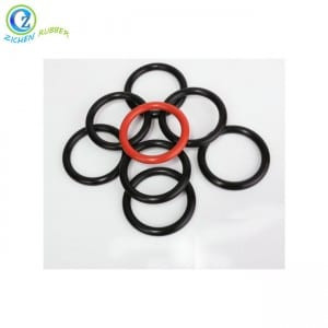 Factory Selling China Heat Resistance Elastic Hot Sale Rubber O Rings in FKM NBR Silicone