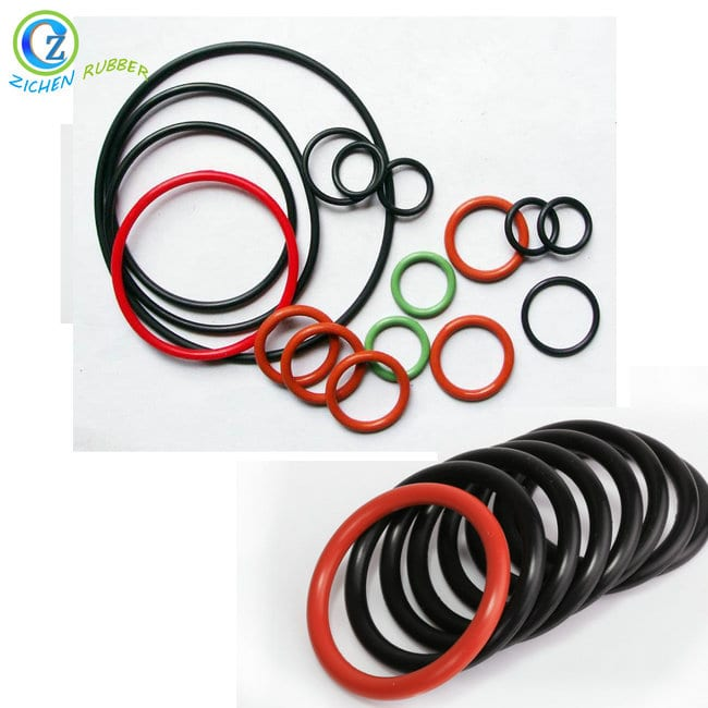 OEM manufacturer Silicone Rubber Seal Gasket – Custom Hot Sell Silicone Rubber Seal O Ring Natural Rubber O Rings – Zichen
