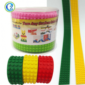 Factory Price Silicone Building Block Tape For Tape Compatible Blocks