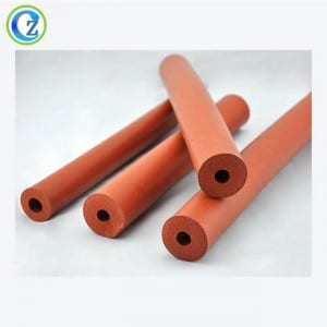 Custom High Quality Elastic Silicone Rubber Foam Tube