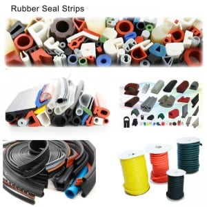 Heat Resistant Silicone Rubber Sealing Strips