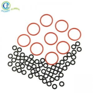 Flexible Conductive Rubber O Ring High Pressure NBR Colorful O Ring