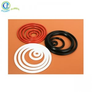 Customized Flexible Extruded Rubber Seal Silicone O Ring