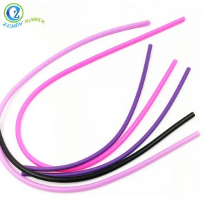Custom High Quality Round Elastic Silicone Rubber Cord