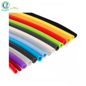 Reliable Supplier Resistant Flexible Clear Rubber Tube,Food Grade Elastic Silicone Rubber Hose