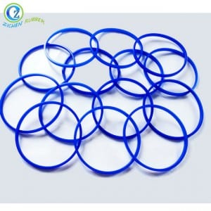 Custom 6 Inch Rubber Ring Flexible Elastic Flat FDA Silicone O Ring