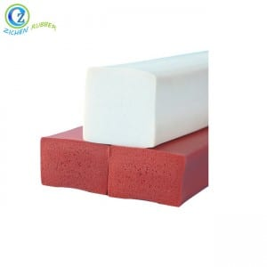 Heat Resistant Silicone Foam Sealing Strips