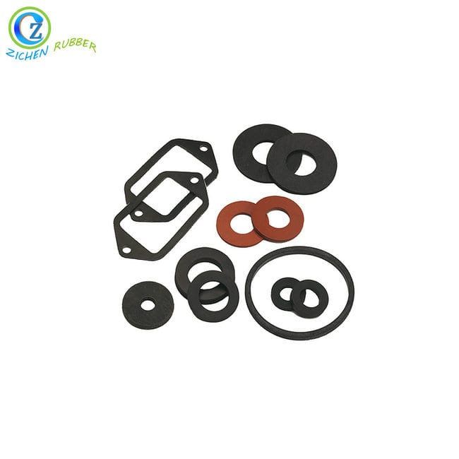 Waterproof  Top Quality Silicone Sealing Gasket Flat Rubber Gasket Featured Image