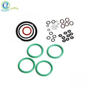 Colorful 6 Inch Rubber Seal Ring Various Sizes FDA Silicone Rubber Seal O Ring