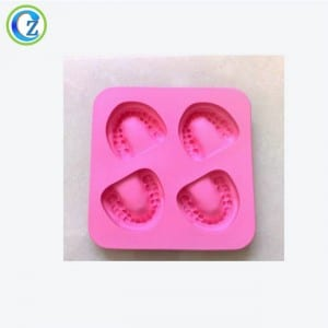 Tress Shapes Christmas Silicone Ice Cube Tray Custom Silicone Ice Cube Trays with Lid