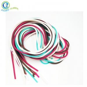 High Quality 4MM Rubber Cord Solid 5MM Rubber Cord Round FDA Silicone Jewelry Strip Cord