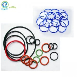 Flexible EPDM NBR Silicone Rubber O Ring Mechanical Rubber Seal Ring