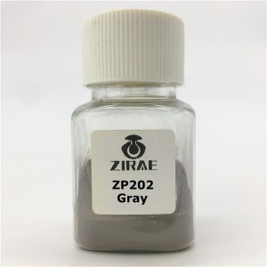 ZP202 Gray Color Dental Sirkon oxíð duft