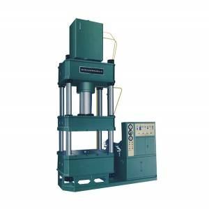 Universal four-column hydraulic press