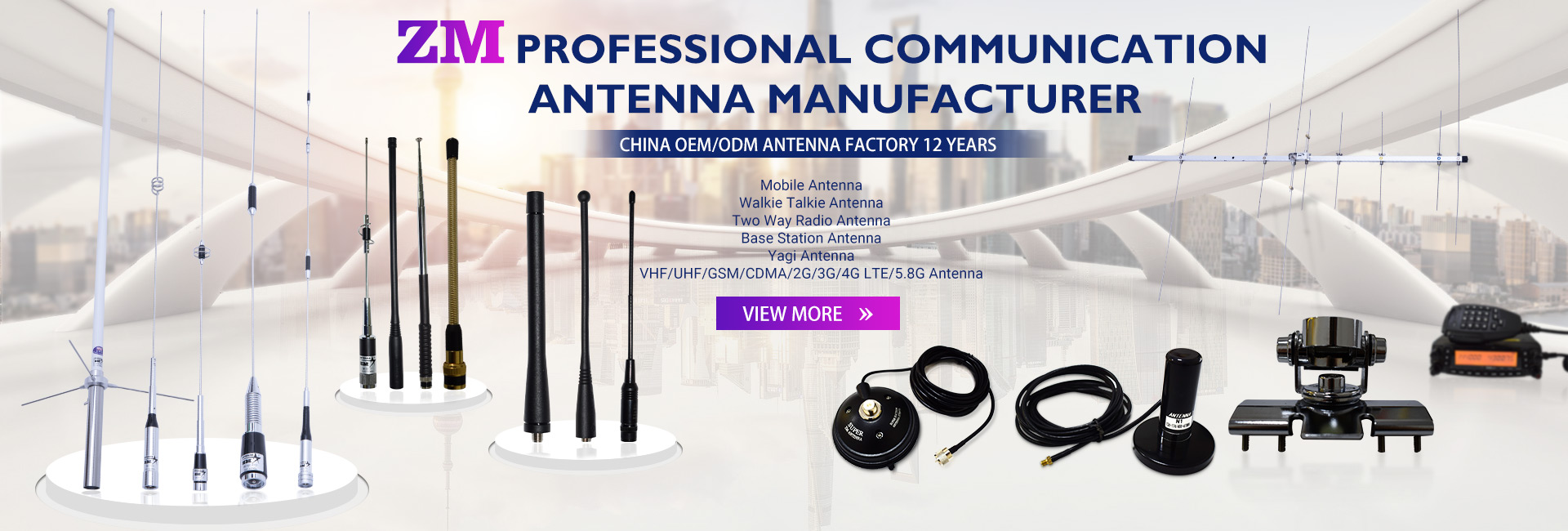 Professional Communication Antena Producator