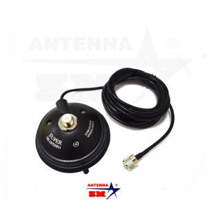 K-505 4.6inch Super Suction Mobile Antenna Magnetic Mount
