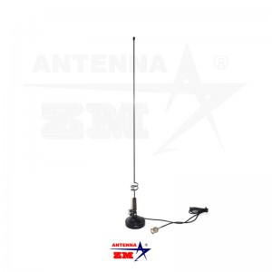 Adjustable Dualband 144/430MHz Magnetic Two Way Radio Antenna