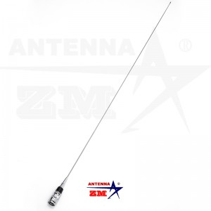 VHF 136-174MHz 5/8 Wave Whip Car Radio Antenna ZM-258S/MC101