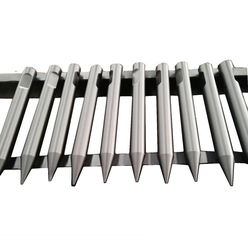 factory Outlets for Hydraulic Breaker - Forging Type Rock Drill Steel Rod and Jack Hammer Chisel – Zhongye